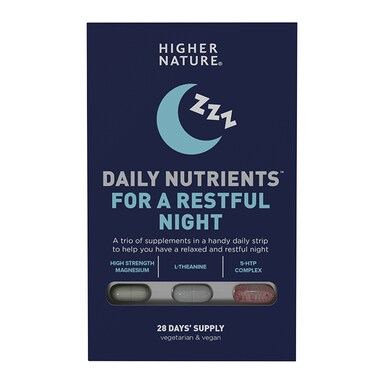 Higher Nature Daily Nutrients for a Restful Night 84 Capsules