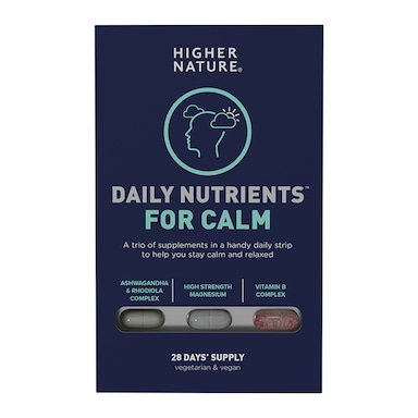 Higher Nature Daily Nutrients for Calm 84 Capsules