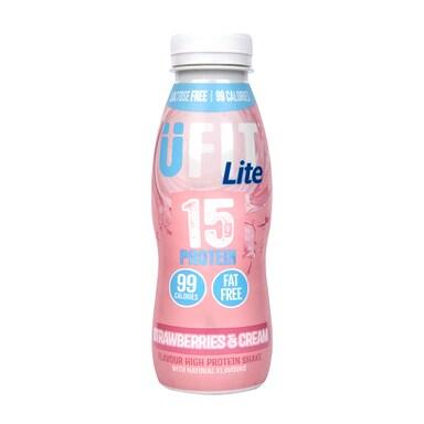 UFIT 15g Strawberries & Cream LITE 310ml