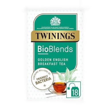 Twinings Bioblends Golden English Breakfast Tea 18 Tea Bags