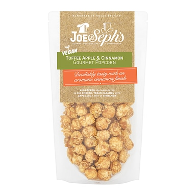 Joe & Seph's Vegan Toffee Apple & Cinnamon Popcorn 80g