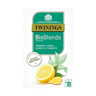 Twinings Bioblends Lemon, Ginger & Turmeric 18 Tea Bags