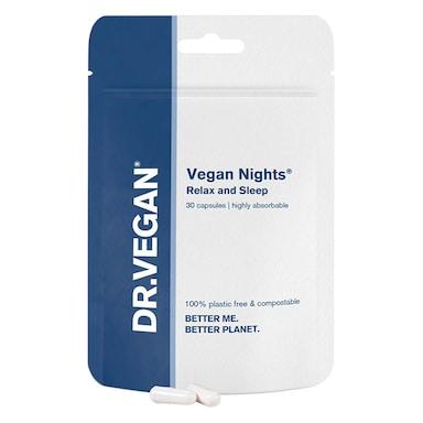 DR.VEGAN Vegan Nights Relax & Sleep 30 Capsules