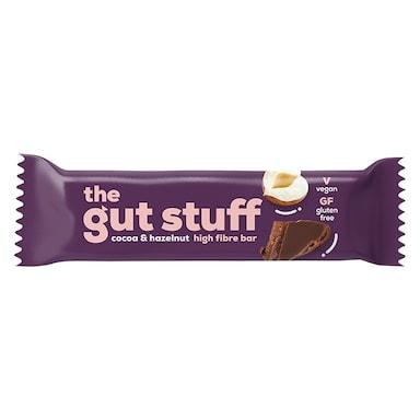 The Gut Stuff Good Fibrations Cocoa & Hazelnut Snack Bar 35g