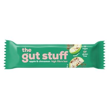 The Gut Stuff Good Fibrations Apple & Cinnamon Snack Bar 35g