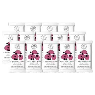 Krumbled Foods Beauty Bites Chocolate Cherry Coconut Flavour 14 x 32g