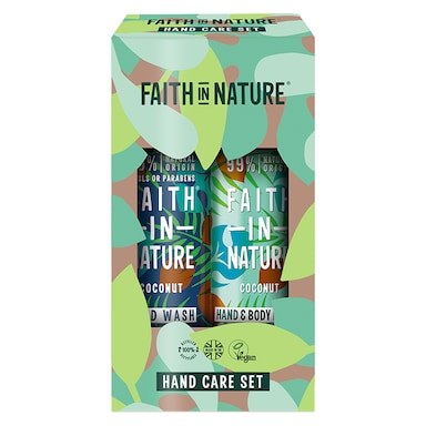Faith in Nature Coconut Hand & Body Gift Set 2 x 400ml