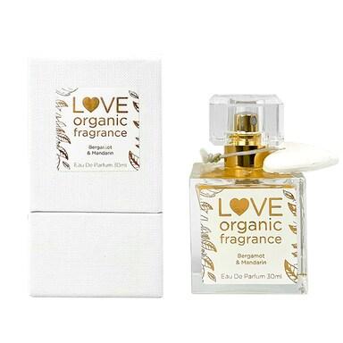 Love organic fragrance Bergamot & Mandarin Eau De Parfum 30ml