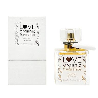 LOVE organic fragrance Ylang Ylang & Jasmine Eau De Parfum 30ml