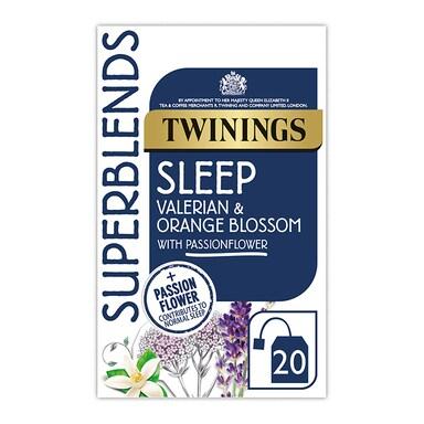 Twinings Superblends Sleep Valerian and Orange Blossom 20 Tea Bags