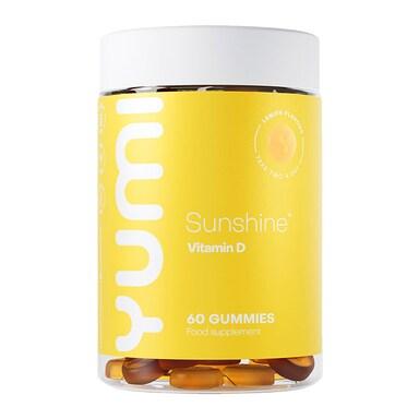 Yumi Sunshine Vitamin D3 60 Gummies 25ug