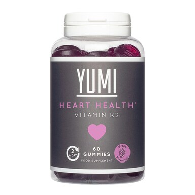 Yumi Heart Health Vitamin K2 200ug 60 Gummies