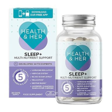 Health & Her Sleep Aid Supplement 30 Capsules