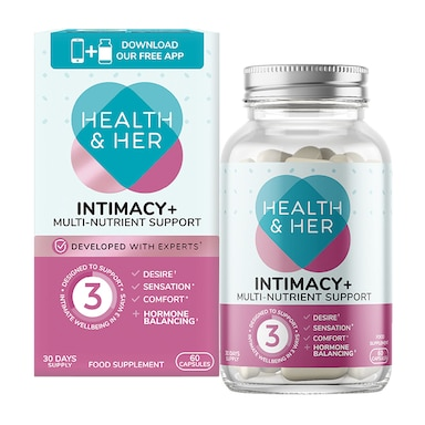 Health & Her Intimacy+ Multi Nutrient Supplement 60 Capsules