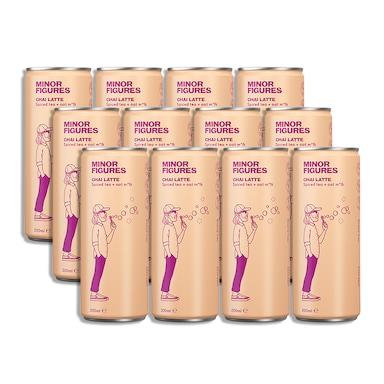Minor Figures Oat Chai Latte Full Box 12 x 200ml