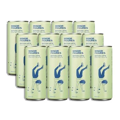 Minor Figures Matcha Latte Full Box 12 x 200ml