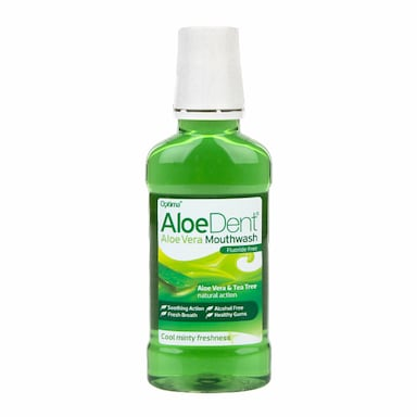 Aloe Dent Aloe Vera Mouthwash Fluoride 250ml