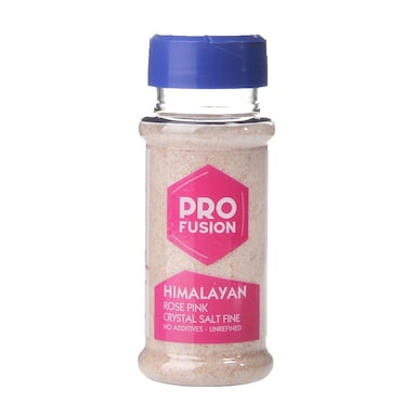 Profusion Himalayan Rose Pink Crystal Salt 140g