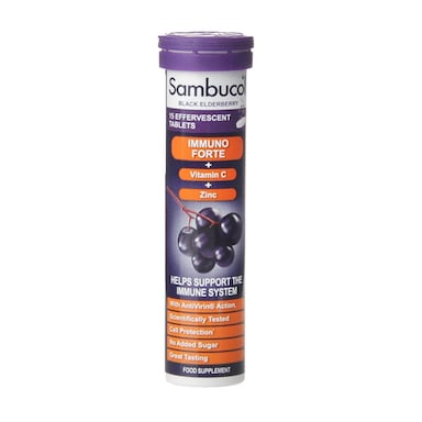 Sambucol Immuno Forte 15 Effervescent Tablets