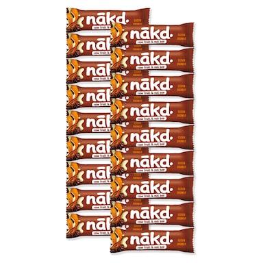 Nakd Cocoa Orange Fruit & Nut Bar 18 x 35g