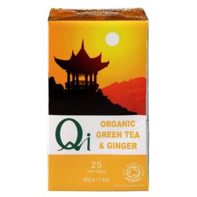 Herbal Health Green Tea & Ginger - Organic & Fairtrade 25 Bags