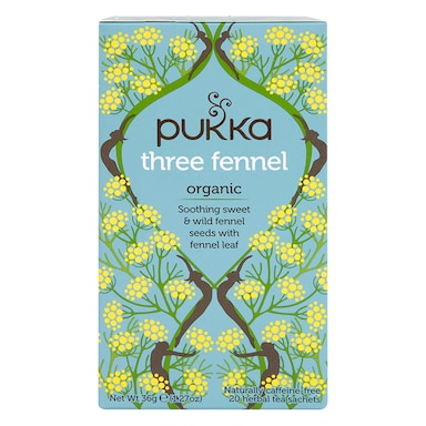 Pukka Three Fennel Tea 20 Tea Bags