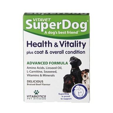 Vitavet SuperDog Health & Vitality 30 Tablets