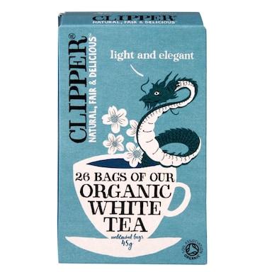 Clipper Organic White Tea 26 Tea Bags