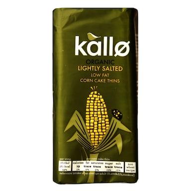 Kallo Organic Corn Cakes 130g