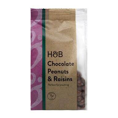 Holland & Barrett Chocolate Peanuts & Raisins 250g