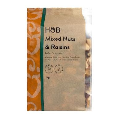 Holland & Barrett Mixed Nuts & Raisins 1kg
