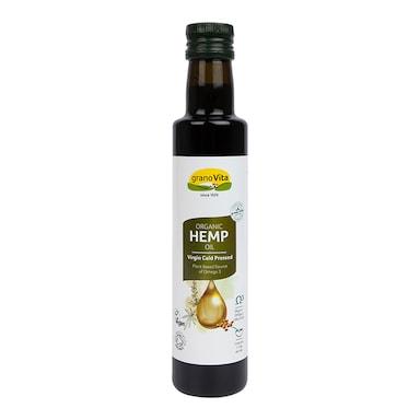 Granovita Organic Hemp Oil 260ml