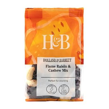 Holland & Barrett Flame Raisin & Cashew Mix 200g