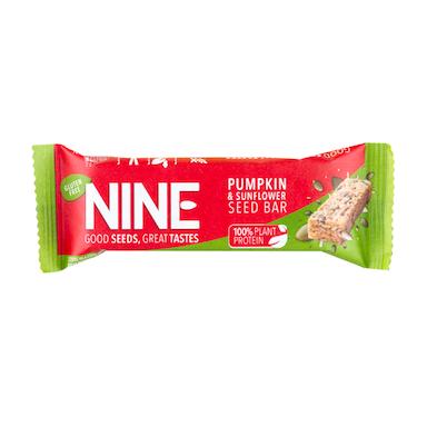 NINE Pumpkin & Sunflower Seed Bar 40g