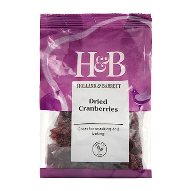 Holland & Barrett Dried Cranberries 100g