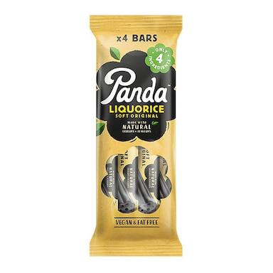 Panda All Natural Soft Liquorice 4 x 32g Bar