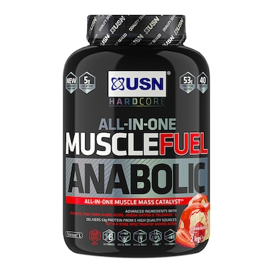 USN Muscle Fuel Anabolic All-In-One Shake Strawberry 2kg