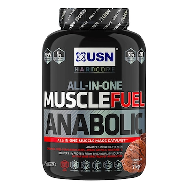 USN Muscle Fuel Anabolic All-In-OneShake Chocolate 2kg