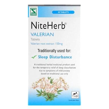 Schwabe Pharma Niteherb 150mg 30 Tablets