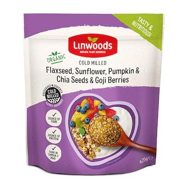 Linwoods Milled Flaxseed, Sunflower, Pumpkin & Chia Seeds & Goji Berries 425g