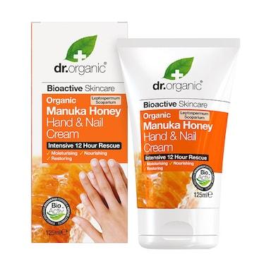 Dr Organic Manuka Honey Hand & Nail Cream 125ml