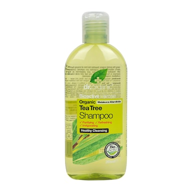 Dr Organic Tea Tree Shampoo 265ml