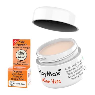 HayMax Aloe Vera Organic Drug Free Pollen Barrier Balm 5ml
