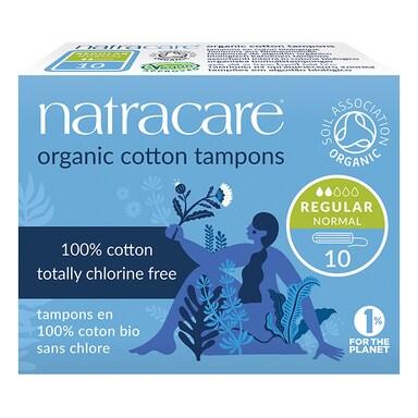 Natracare Natural Organic Cotton Tampons 10 Regular