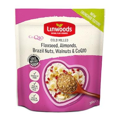 Linwoods Milled Flaxseed, Almonds, Brazil Nuts, Walnuts & Q10 360g