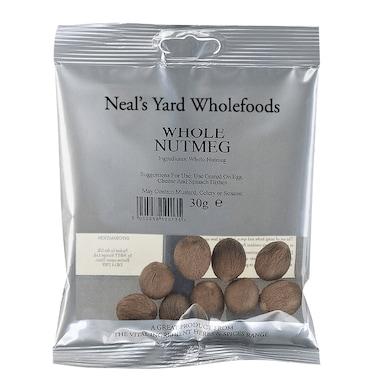 Neal's Yard Wholefoods Whole Nutmegs 30g