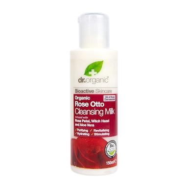 Dr Organic Rose Otto Cleansing Milk 150ml