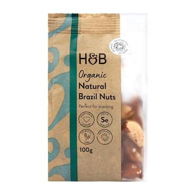 Holland & Barrett Organic Brazil Nuts 100g