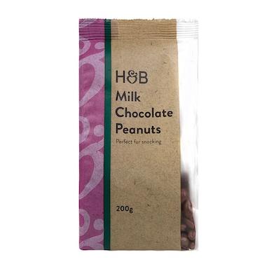 Holland & Barrett Milk Chocolate Peanuts 200g