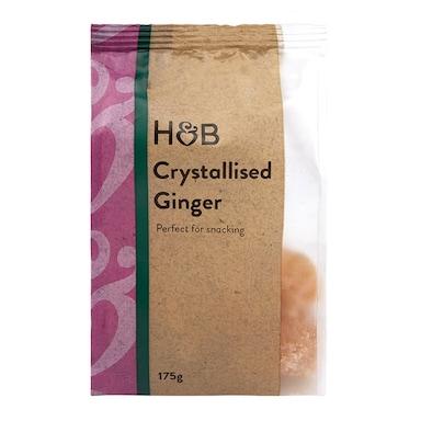 Holland & Barrett Crystallised Ginger 175g